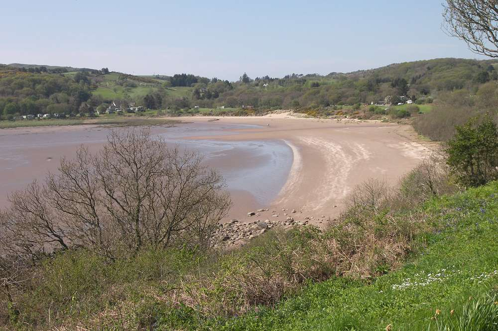The beach at Sandyhills